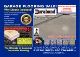 Durabond Seamless Flooring Products